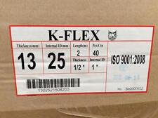 "K-FLEX Pipe Insulation 13mm x 25mm : 1/2"" x 1"" - BOX QUANTITY"