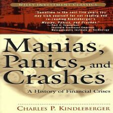 Manias, Panics and Crashes: A History of Financial Crises (Wiley Inves-ExLibrary