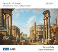Handel: The complete Italian Cantatas for bass,