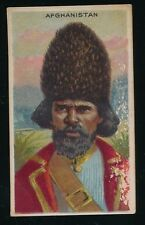 1910 T113 -13 Brand Back (Fac 229) TYPES OF NATIONS -Afghanistan *Tough Back*
