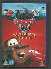 CARS TOON MATER'S TALL TALES - Disney/Pixar  UK R2 DVD (mint condition - as new)