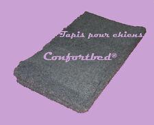 Tapis Confortbed Vetbed Eleveur gris anthracite uni, épaisseur 32 mm, 50x75 cm