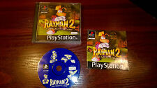 SONY PLAYSTATION PS1 - RAYMAN 2 THE GREAT ESCAPE #G16 BOXED