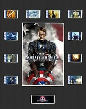 CAPTAIN AMERICA THE FIRST AVENGER 35mm MOUNTED FILM MOVIE CELL GREAT GIFT