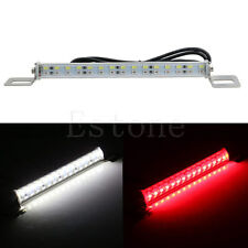 Car 30LED 18W Light Bar Brake Tail Reverse Rear License Plate Lamp Red White New