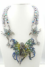 KIRKS FOLLY AVALON SPIDERELLA FAIRY QUEEN BEADED NECKLACE ~~NEW RELEASE~~