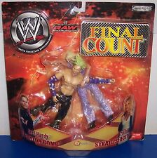 """2002 Jakk's Final Count """"Jeff Hardy"""" vs """"Trish"""" Action Figure Set WWF WWE [1462]"""