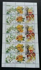 Malaysia Scented Flowers II 2016 Plant Flora (sheetlet) MNH *unissued *limited