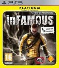 Infamous Platinum GAME (Sony Playstation 3) PS PS3 **FREE SHIPPING!!