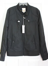 NWT DIESEL Jeffir mens jacket light weight nylon black M Medium $230