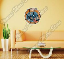 "Zombie Basketball Halloween Corpse Wall Sticker Room Interior Decor 22""X22"""
