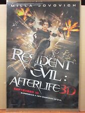 Resident Evil After life 3D Milla Jovovich vintage movie Poster 11357