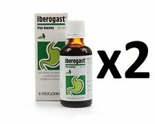 2 x Iberogast 50ml Drops -  FREE SHIPPING!!!