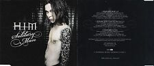 Him solitary Man ville valo please Don 't Let It Go & Join me live Enhanced vg CD