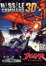 Missile Command 3D Atari Jaguar Game Cartridge