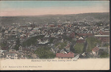 America Postcard - Waterbury From High Rock, Looking South West  DR438