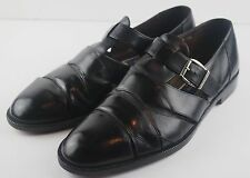 Bragano Cole Haan Italy Mens Leather Fisherman Sandals Black Shoes Size 10 M