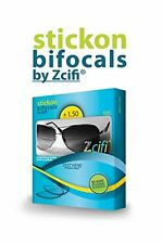 Stick On Bifocals For Fishing  +1.50 FREE Case - Instant Bifocals