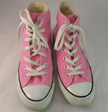 Pink Chuck Taylor High Tops - Converse All Star - Women's size 8 - Mens size 6