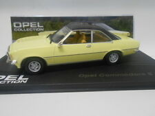 OPEL COMMODORE B GS/E 1972 OPEL COLLECTION #14 EAGLEMOSS IXO 1/43