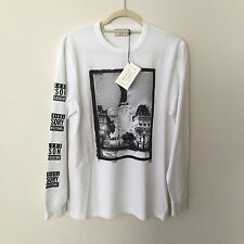 Maison Kitsune Long Sleeve 18 Tee Limited Edition SSENSE Exclusive Size Medium