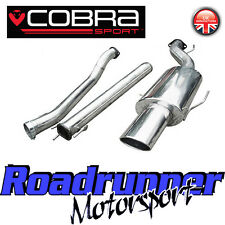 "VX75 Cobra Sport Astra MK5 1.4 1.6 1.8 Exhaust System 2.5"" Non Resonated Hatch"