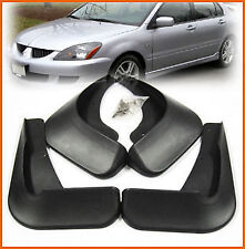 FIT FOR 2003 04 05 06 07 MITSUBISHI LANCER SEDAN MUD FLAP SPLASH GUARDS MUDGUARD