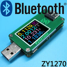 USB 3.0 Power Monitor YZXstudio1270 Voltage Current Meter High Resolu+ Bluetooth