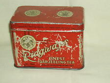 vintage very interesting metal tin box tea Ridgways London England!