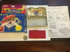 Micro Machines Travel City Rent A Car W/ Box