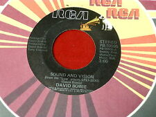 DAVID BOWIE~SOUND AND VISION~A NEW CAREER IN A NEW TOWN~RCA 10905~ POP 45