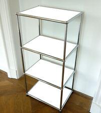 * USM Haller Regal * 105x50x35 cm * Highboard HiFi Möbel Weiß * MwSt * Reinweiß