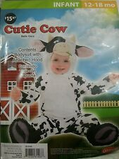 New Cow Costume for toddler 12-18mos.