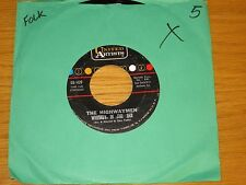 """FOLK 45 RPM - THE HIGHWAYMEN - UNITED ARTISTS 439 - """"WHISKEY IN THE JAR"""""""