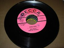 "BILL HALEY mambo rock / rockin rollin / lean jean ( rock ) 7"" / 45 - PROMO - LOT"
