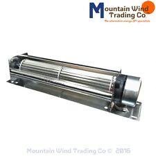 12 Volt DC Large Crossflow Cooling Fan for generator wind turbine solar panel