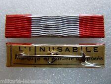 Agrafe Rappel Barrette Dixmude Médaille CROIX DE GUERRE DES T.O.E épingle