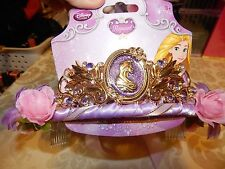 NEW TIARA Flowers Tangled Rapunzel Girls Childs Costume Accessory  Disney Store