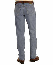 Wrangler Mens REGULAR FIT JEANS 33 X 30 - Fits Over Boots - STONEWASH - 39902SW