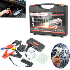 Multi-Function 12V 68800mAh Car Jump Starter USB Power Bank Rechargeable Battery