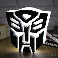 TRANSFORMERS AUTOBOT LIGHT - LED Night Light - USB Powered