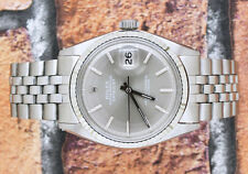 Gents Steel & Gold Gents Slate Grey Dial Rolex Oyster Perpetual Datejust.