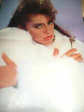 Very rare hot Sabrina Salerno Poster wow boys not nude but very sexy rar Popcorn