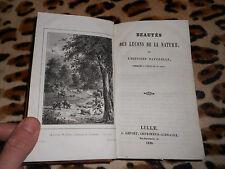 Beautés des leçons de la nature - L. Lefort, 1839