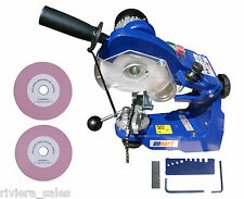 GOPART PROFESSIONAL CHAINSAW GRINDER SHARPENER BENCH MOUNTED C/W 3 WHEELS