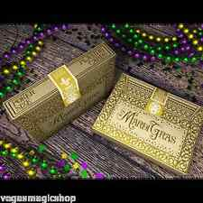 Mardi Gras Deck Playing Cards Poker Size EPCC Custom Limited Edition New Sealed