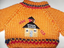 School  House American Fashion  Doll Clothes Sweater #1  fits 18 inch  Girl Doll