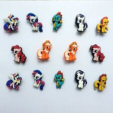 My Little Pony Shoe Charms Flower for Bracelets/Bands/Croc/Jibbitz Gifts 14pcs