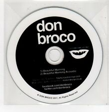 (FE813) Don Broco, Beautiful Morning - 2011 DJ CD