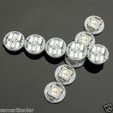 10Pcs DC5V WS2812B IC Built-in SMD 5050 RGB LED Addressable Full Color Neopixel